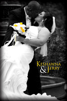 Keshawna and Jerry Wedding